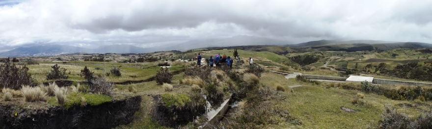 Visita de campo Cangahua y Oyacachi, Encuentro JH 2013